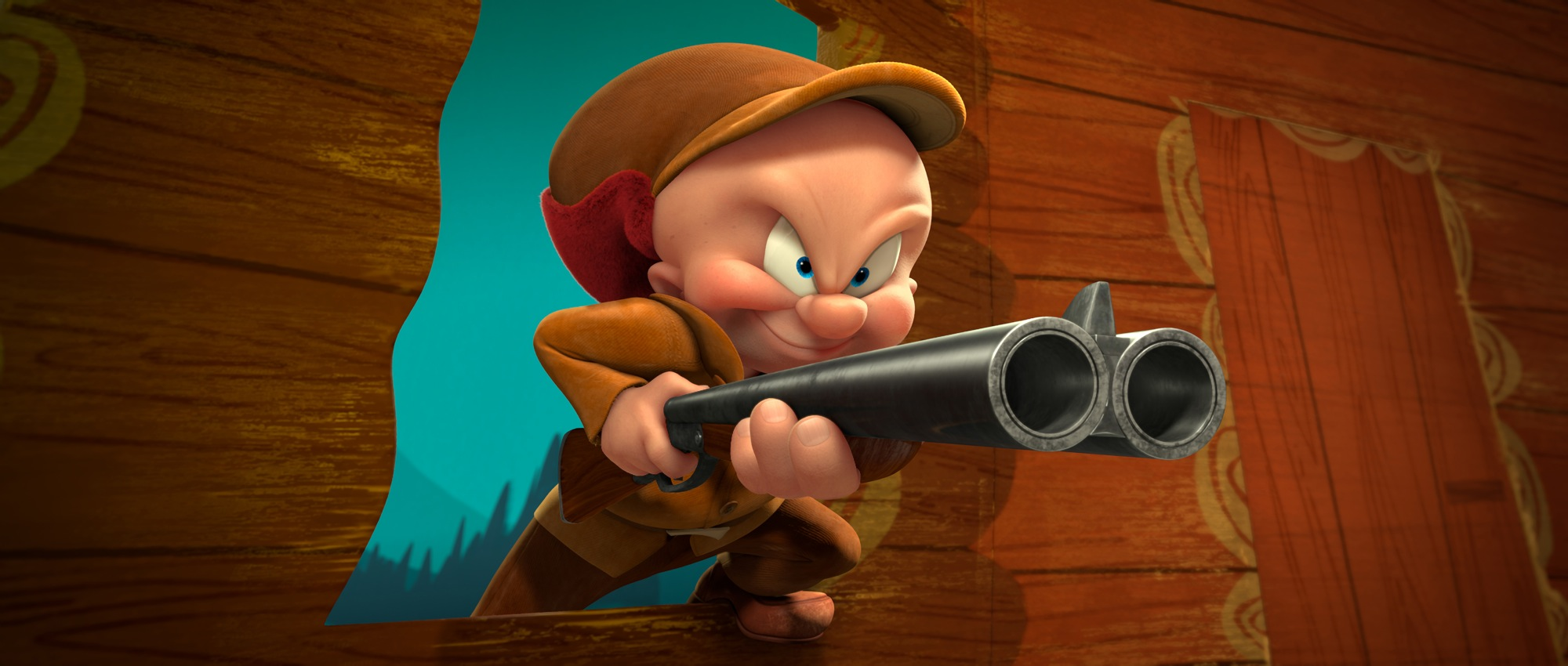 Elmer Fudd is on the hunt in the new Looney Tunes 3D theatrical short DAFFY'S RHAPSODY, debuting in theaters on February 10, in conjunction with Warner Bros. Picturesí release of Journey 2: The Mysterious Island.
